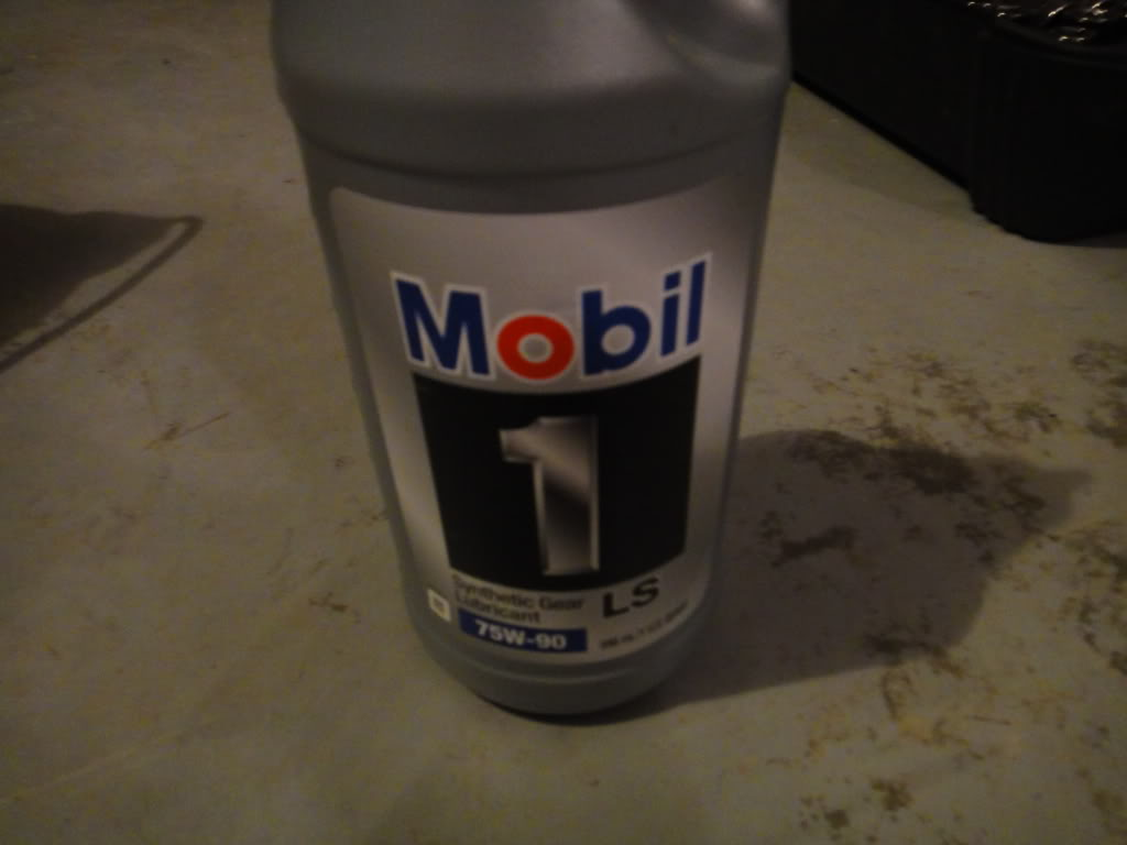 2012 tacoma gear oil