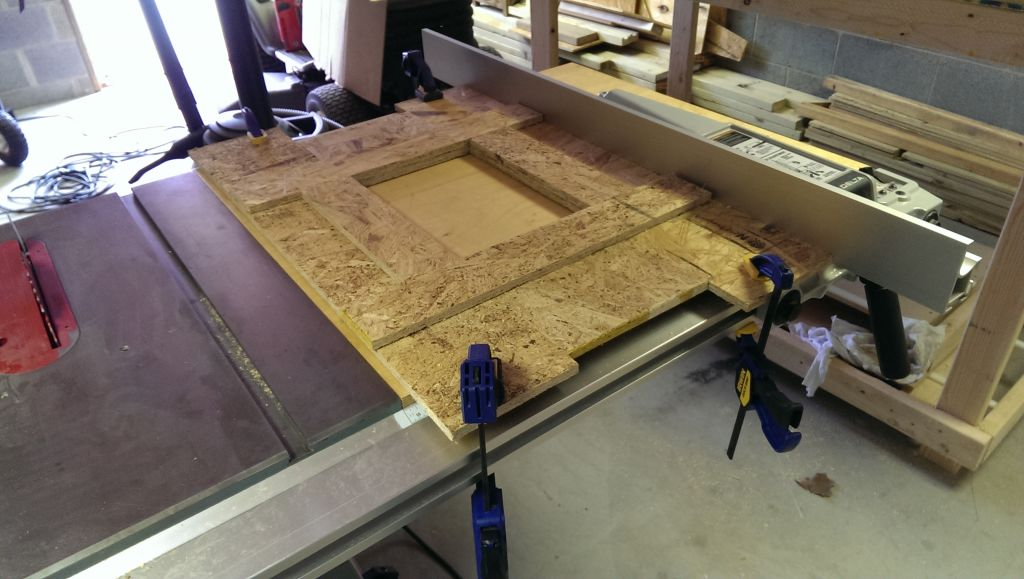 Adding a table saw router table extension did it myself why am i so dumb look at this crappy osb greentooth Choice Image