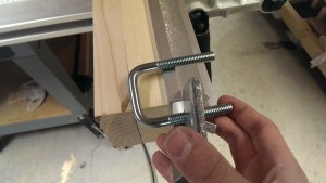 Cut in half, it makes a fair-to-middlin' fence clamp
