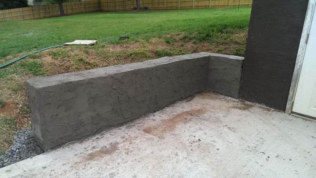 Building A Cinderblock Retaining Wall Did It Myself