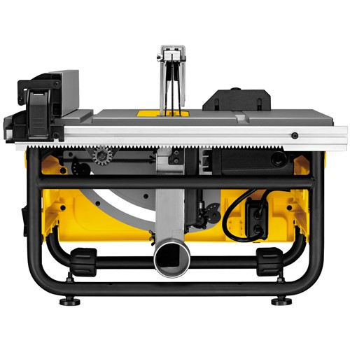 Dewalt dw745 table saw review did it myself dust collection greentooth