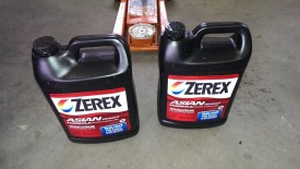 Zerex coolant works for this Scion - never mix colors