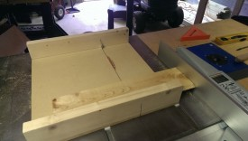 Be sure to use a crosscut sled