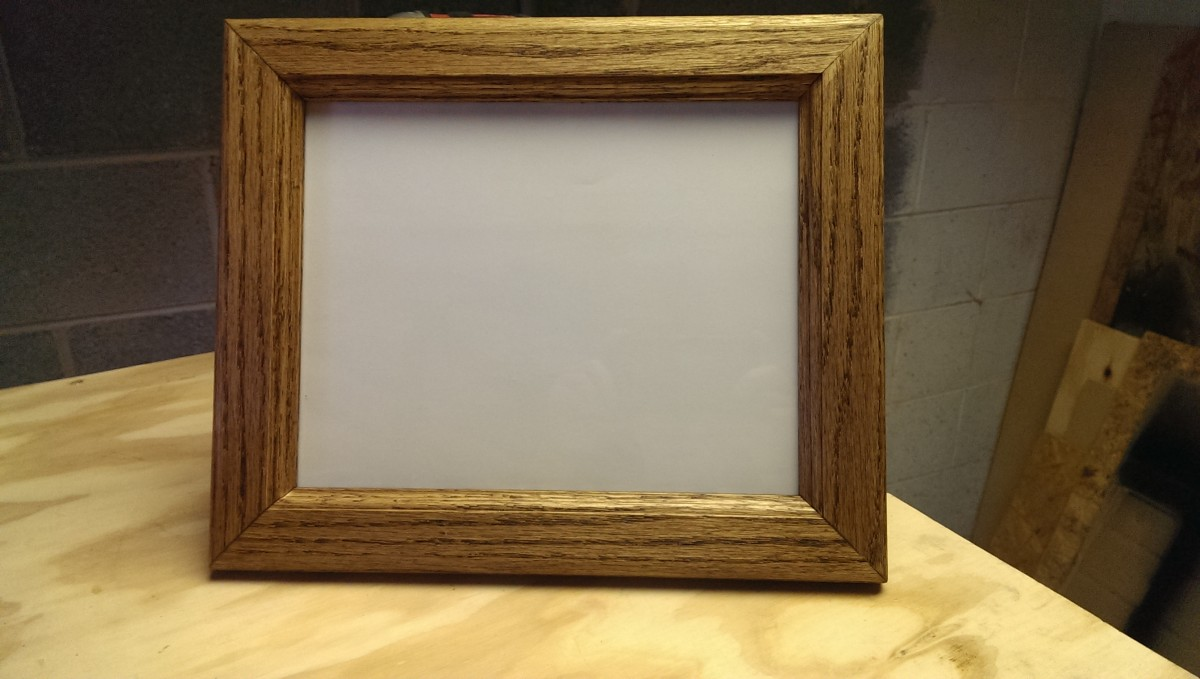 How to Make a Picture Frame - Did It Myself