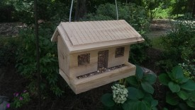 Finished bird feeder