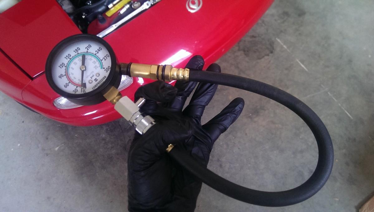 Compression Testing a Mazda Miata - Did It Myself