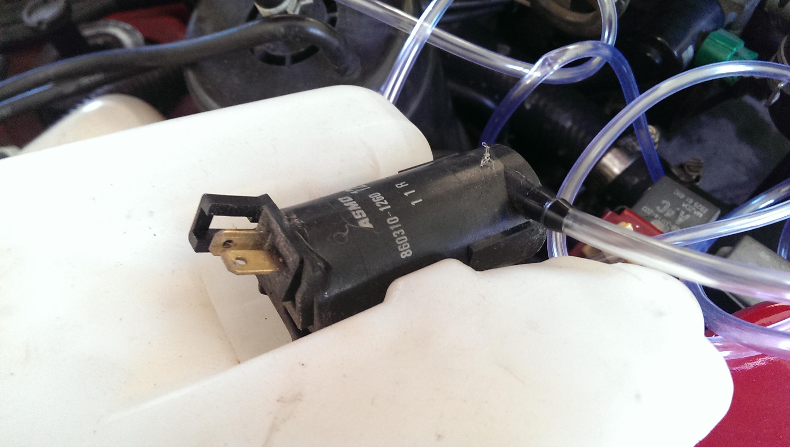 Replacing the Wiper Hoses in a Miata - Did It Myself