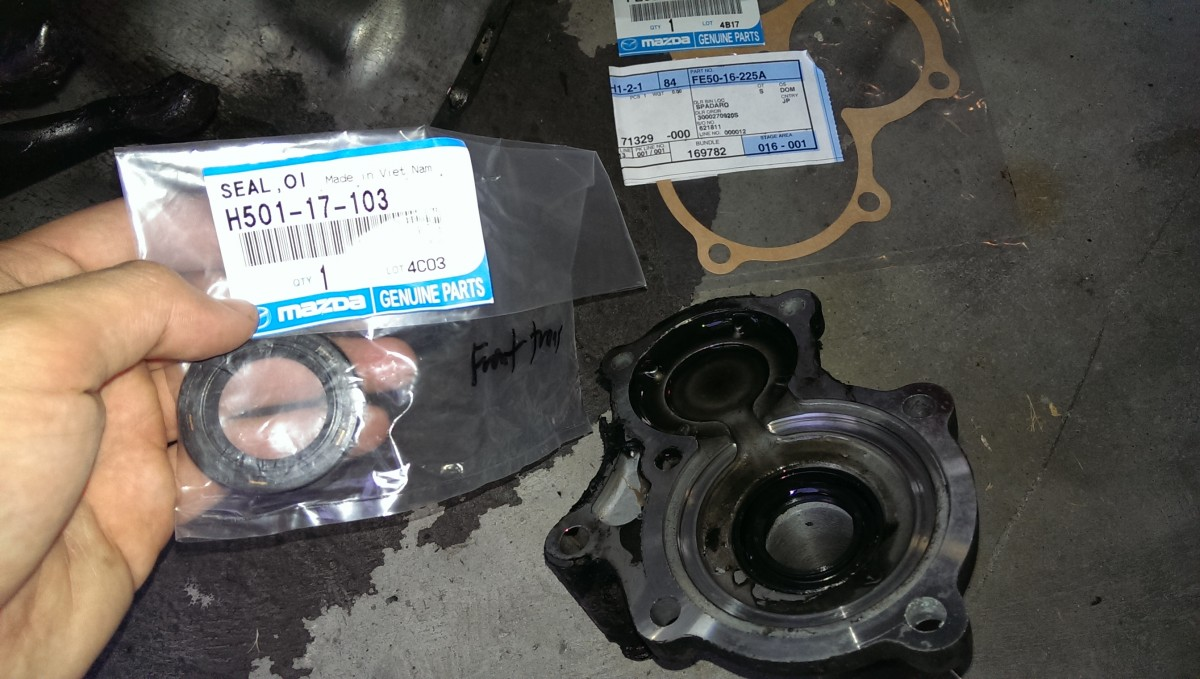 Miata Clutch, Transmission, and Rear Main Seals - Did It Myself