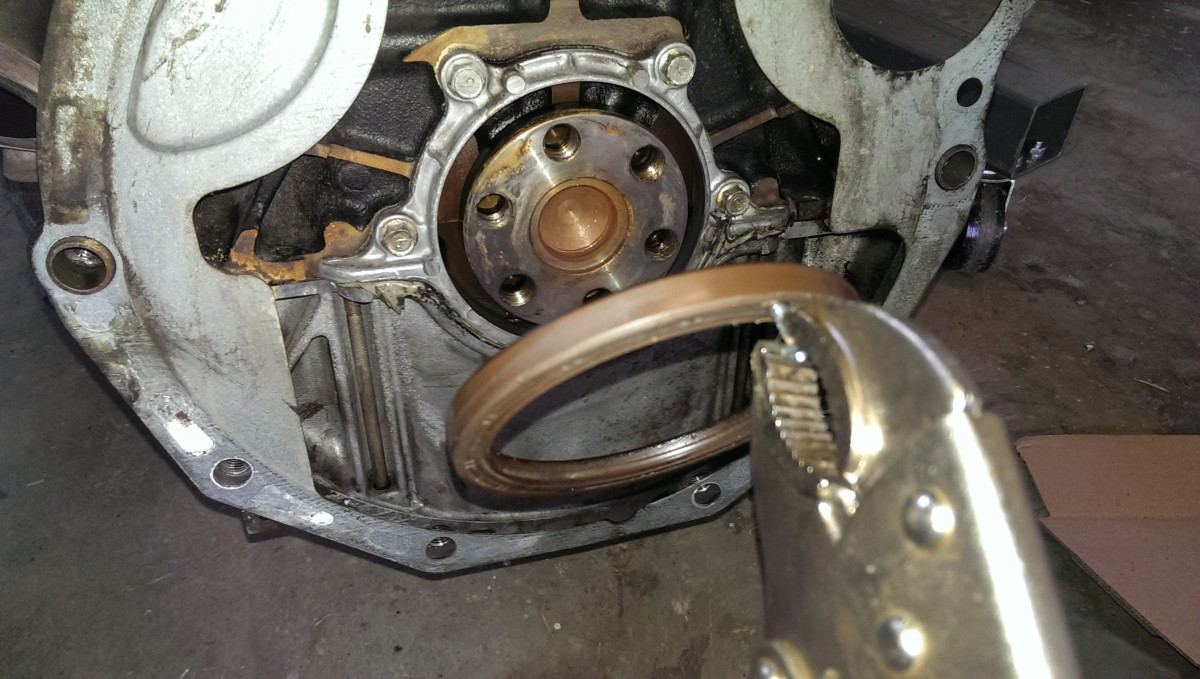 Miata Clutch Transmission And Rear Main Seals Did It Myself