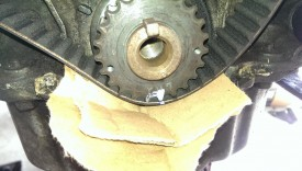 Mark on timing gear