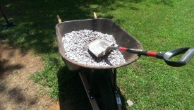 Bulk gravel is cheaper than bags