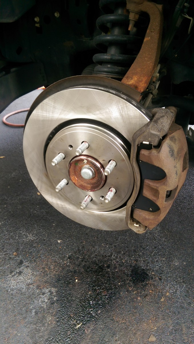 Changing Brakes on an 09-14 F150 - Did It Myself