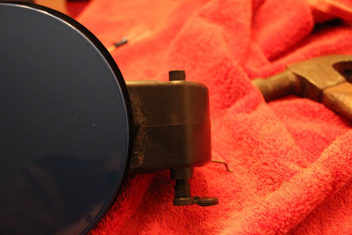 fuel door repair on 09 14 f150 did it myself. Black Bedroom Furniture Sets. Home Design Ideas