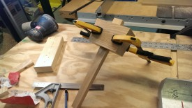 Ensuring the handle fits during glue up