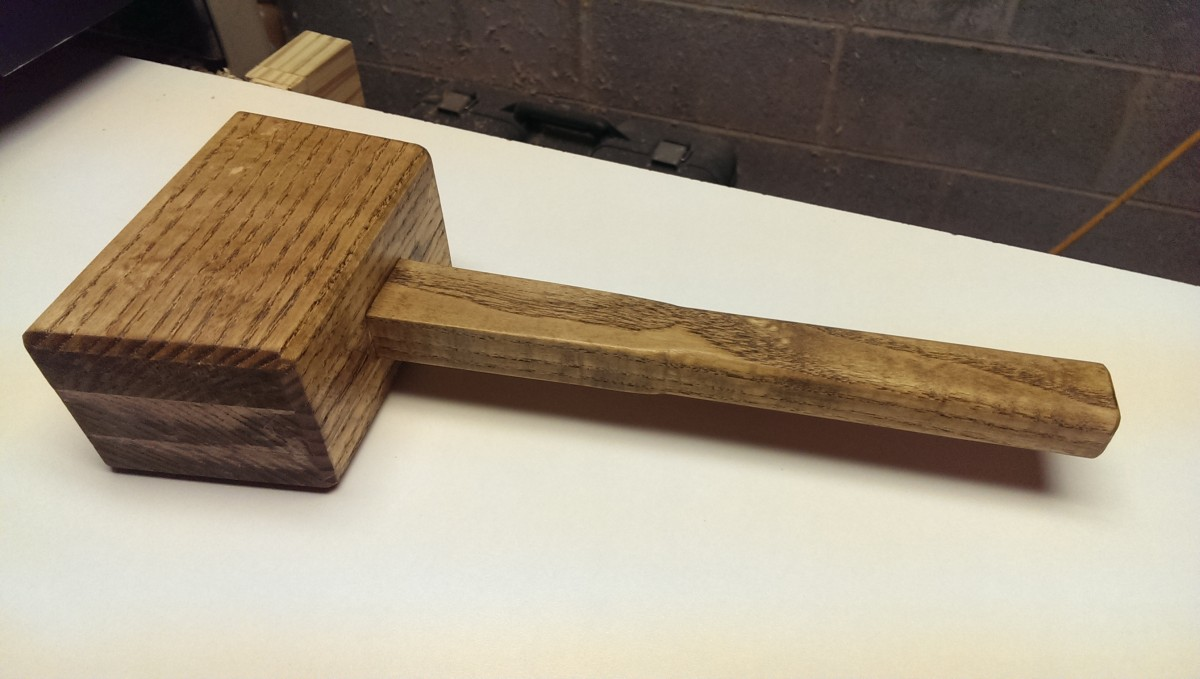 Making A Laminated Wooden Mallet Did It Myself