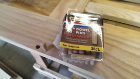 Buy these instead of dowel rod or make your own dowel rod