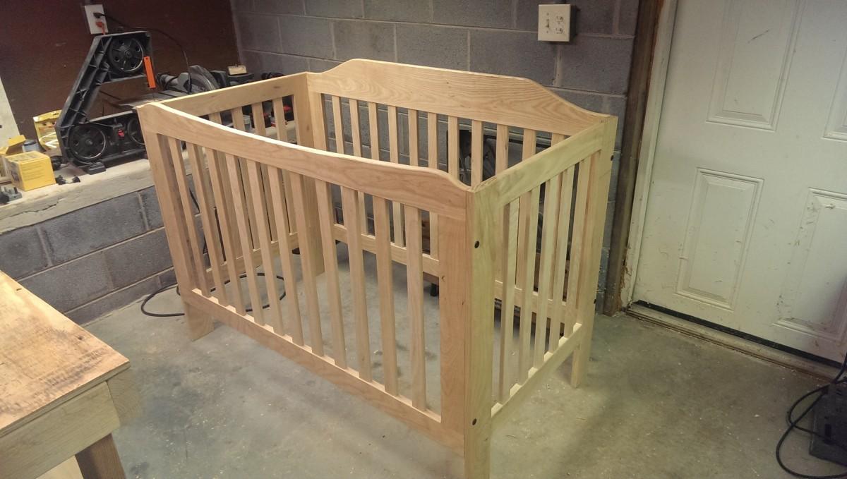 Heirloom Diy Crib Part 3 Did It Myself