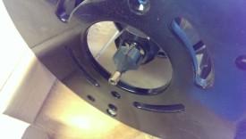 Brass bearing roundover bit