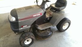 "My 2008 Craftsman 38"" Mower"