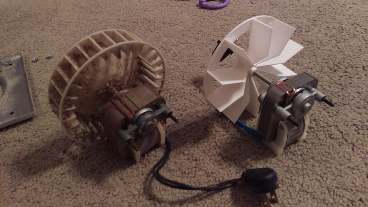 Fixing A Squeaky Bathroom Fan Did It Myself