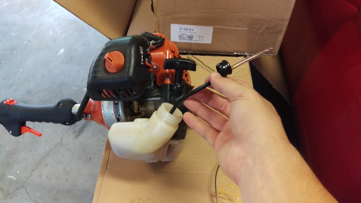Replacing Fuel Lines in a String Trimmer - Did It Myself