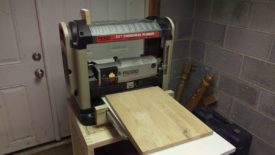 Running it through the planer
