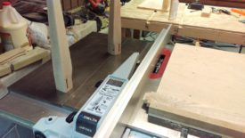 Tenoning with a dado blade and crosscut sled
