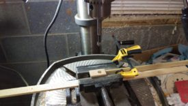 Countersink for the screw head