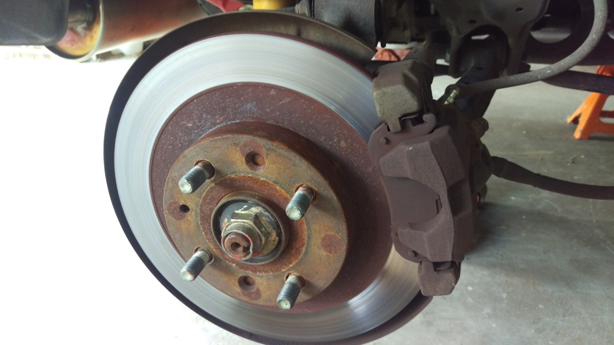 Changing Brakes In A Miata Did It Myself Single Disc Brakerepair And Parts Replacement Diagram Get The Back Of Car On Jack Stands Remove Wheels
