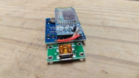 The Bluetooth module needs a 5V wire