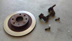 Rotor and bracket