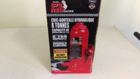 Bottle jack from tractor supply that lifts up to 18""