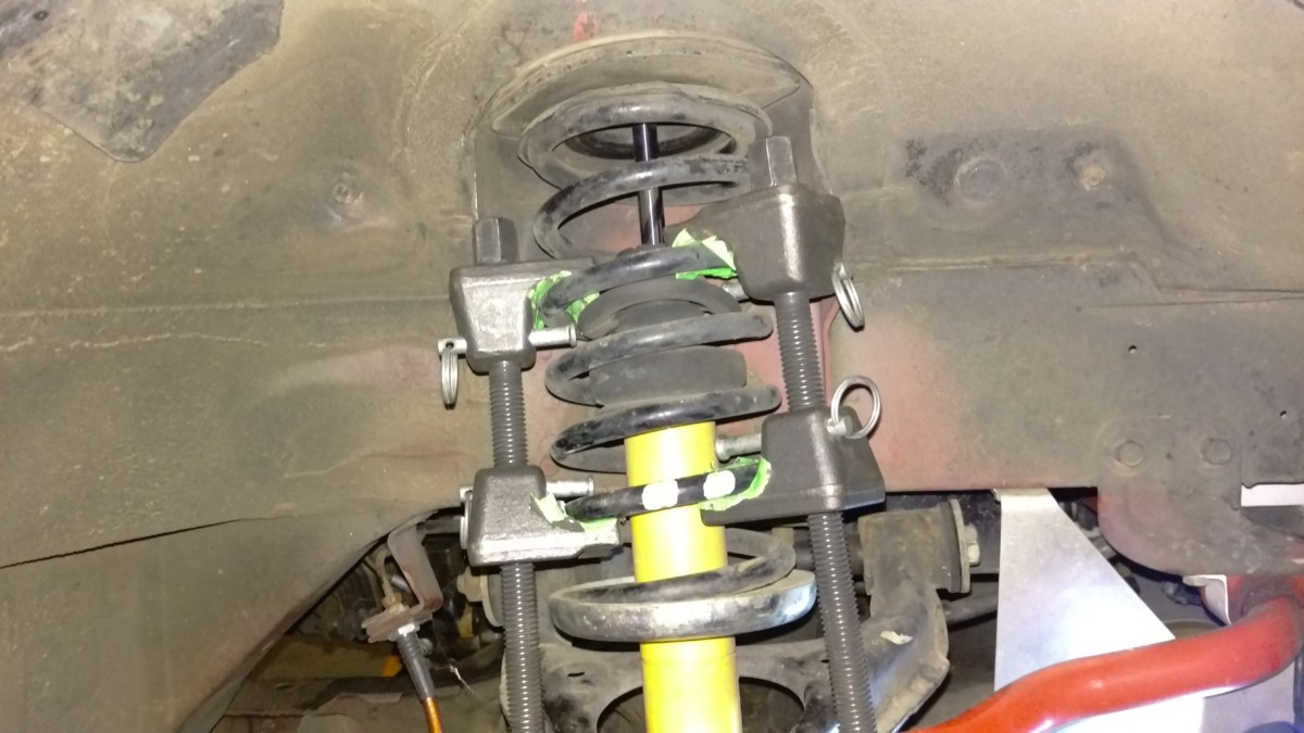 Installing Coilovers in a Miata - Did It Myself