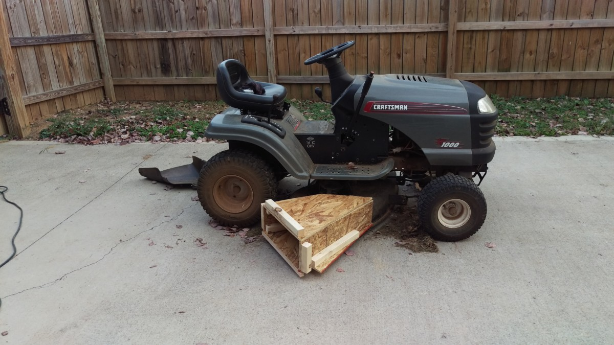 Homemade Riding Lawn Mower Attachments - Homemade Ftempo