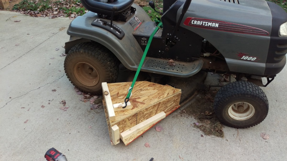 Diy Mower Leaf Catcher For 80 Did It Myself