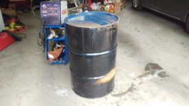 55 Gallon Steel Drum