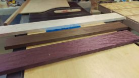 All 3 boards planed to same height, ready to cut up