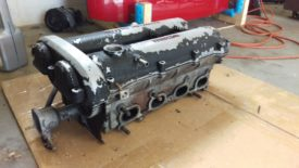 Sample cylinder head, already removed
