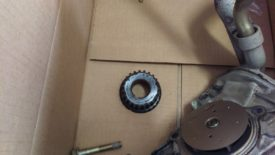 Gear in parts box