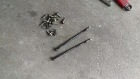 Here is the resulting pile of oil pan bolts