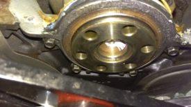 Rear crank holder thingy