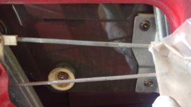 Remove both phillips head screws