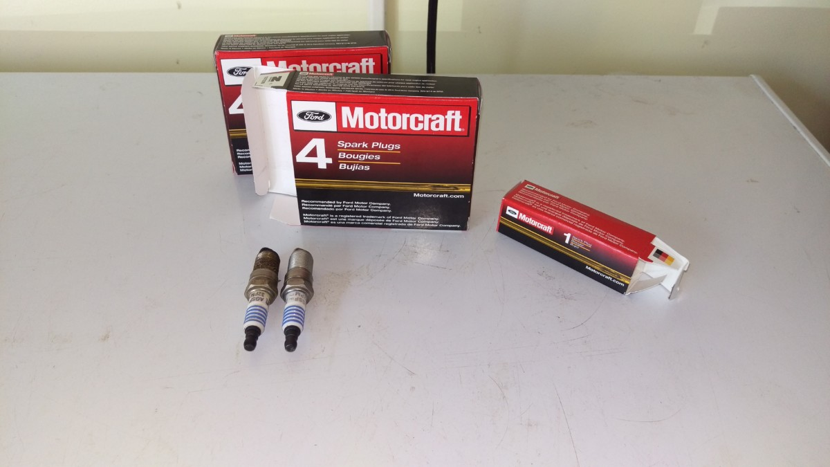 Replacing Spark Plugs On A 99 04 Mustang Did It Myself 2000 Plug Coil F150 Ford 5 4 I Went With Brand