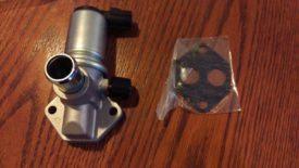 Replacement IACV and gasket if your model has this big intake hose port