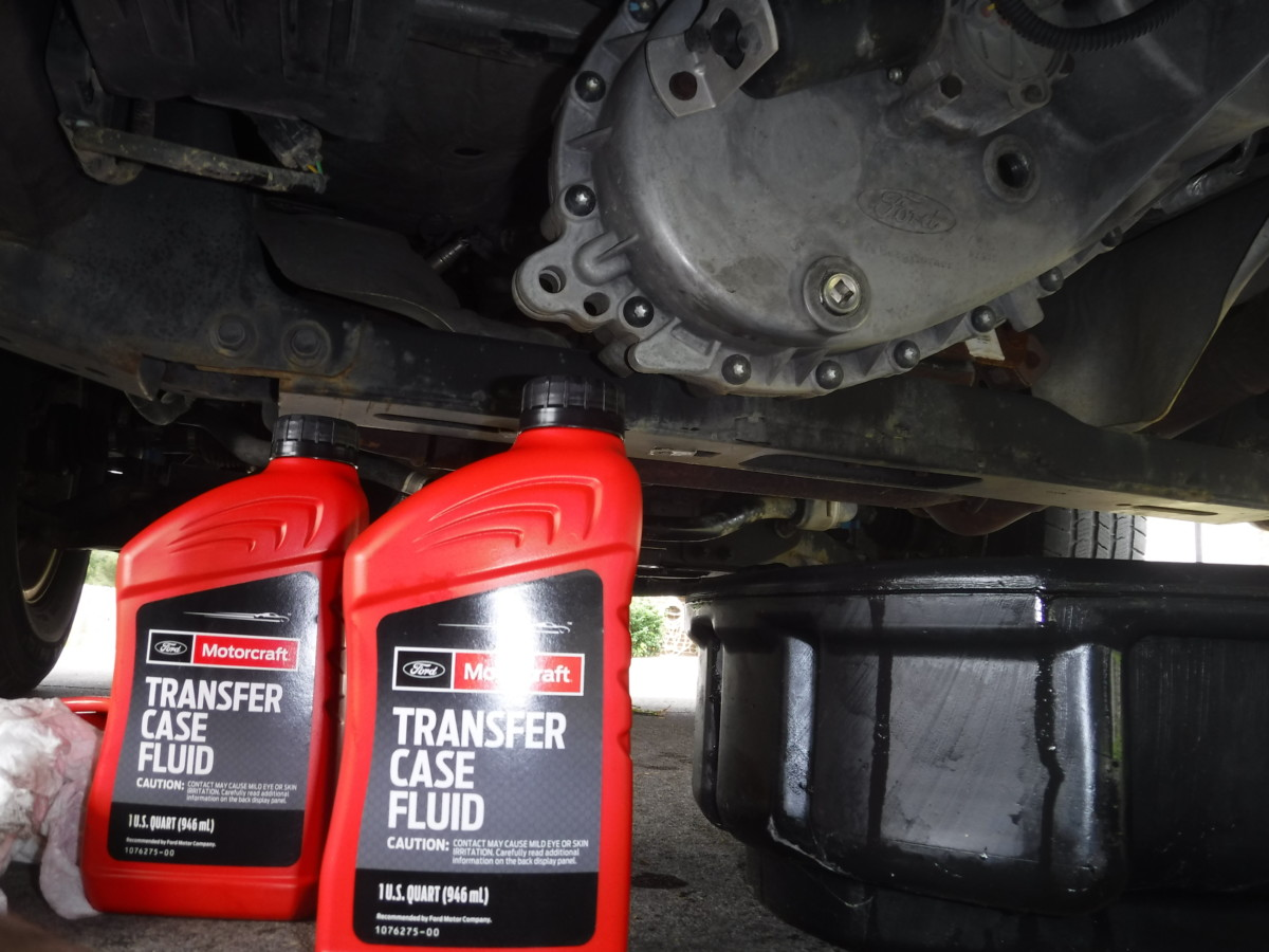 F 150 Transfer Case Front And Rear Differential Fluid Replacement Did It Myself