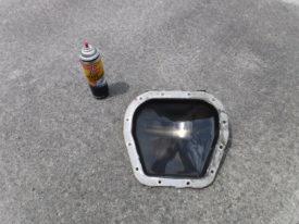 Brake clean and a plastic scraper are your friend
