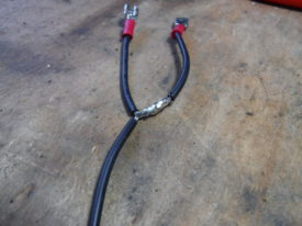Crimped and soldered up this wiring