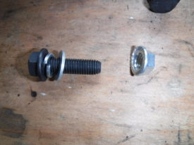 Bolt and Washer Order