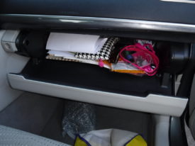 Filter in Glove Box